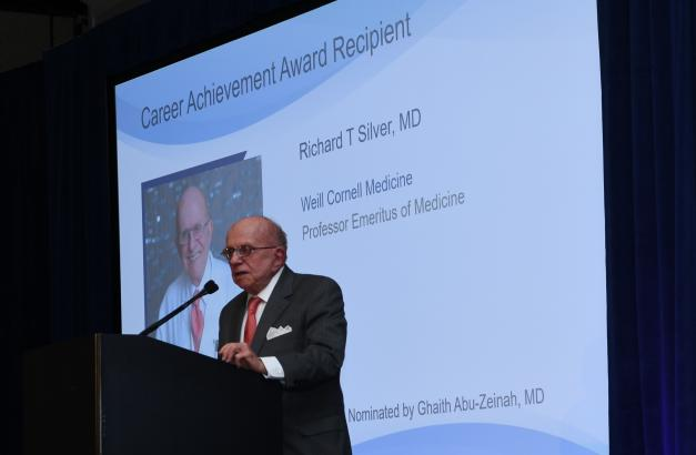 Dr. Silver received the 2019 Celgene Career Achievement Award for Clinical Research in Hematology.