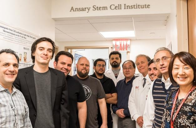 Weill Cornell Medicine stem cell team